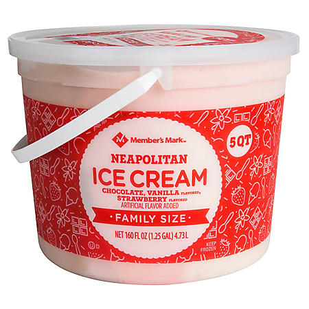 Member's Mark Neapolitan Ice Cream (5 qt.)