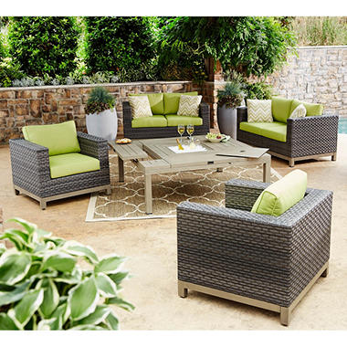 Member S Mark Grand Cayman Sunbrella Seating Set Sam S Club