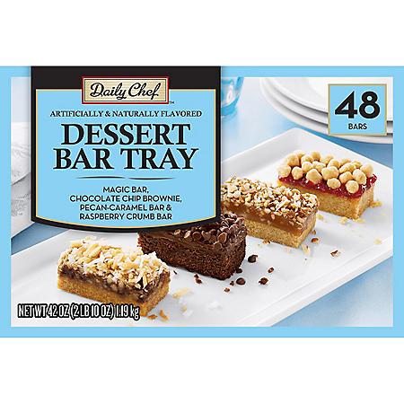 Daily Chef Dessert Bar Tray (48 ct.)