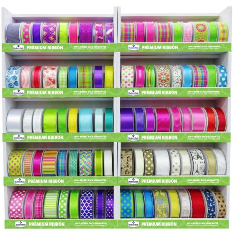 Member's Mark Premium Wired Spring 2016 Ribbon - Assorted