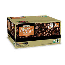 Daily Chef Organic Breakfast Blend Coffee (80 single-serve cups)