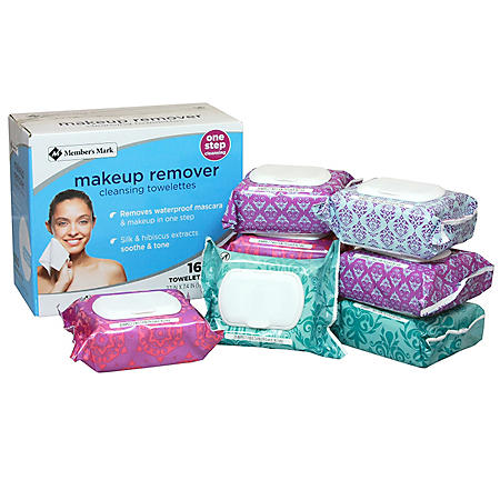 Member's Mark Makeup Remover Cleansing Towelettes (160 ct.)