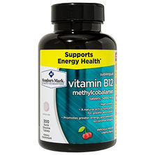 MM Sublingual Vitamin B12 5000mcg Methylcobalamin (300 ct.)