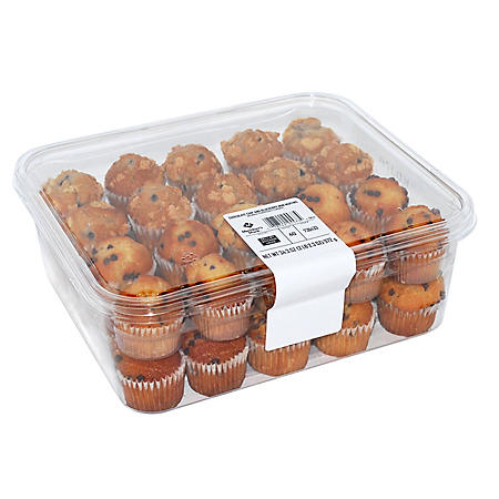 Member's Mark Blueberry and Chocolate Chip Mini Muffins (40 ct.)
