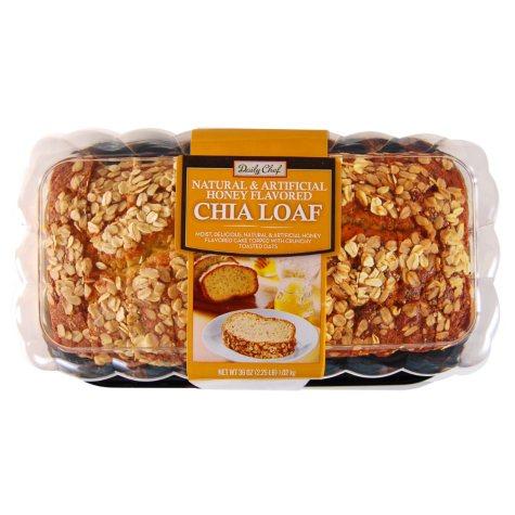 Daily Chef Honey Chia Loaf (36 oz.)