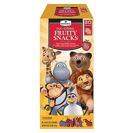 Member's Mark Fruity Snacks (80 ct.)