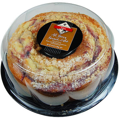 Member's Mark All Berry Brunch Cake - 45 oz.