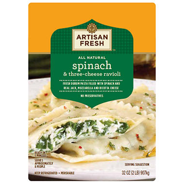 Member's Mark Spinach & Cheese Ravioli