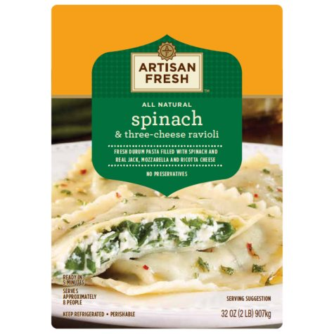 Member's Mark Spinach & Cheese Ravioli