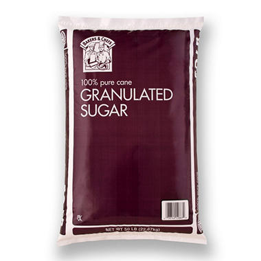 Bakers & Chefs? Pure Cane Sugar - 50 lbs.