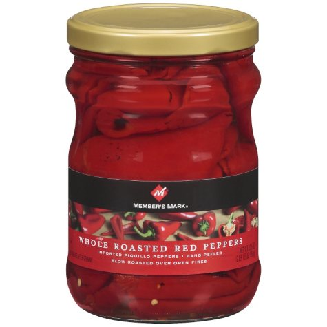 Member's Mark® Whole Roasted Red Peppers - 33.5 oz.
