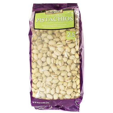 Daily Chef Roasted & Salted Pistachios (2.5 lb.)