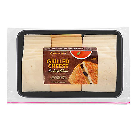 Member's Mark Grilled Cheese Melting Slices (24 oz.)