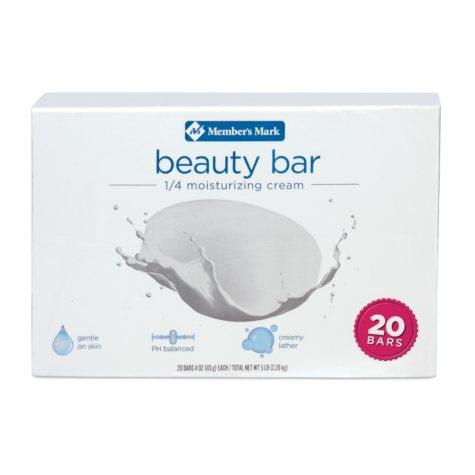 Member's Mark Beauty Bar (4 oz., 20 ct.)