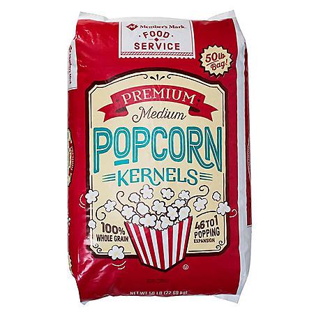 Member's Mark Premium Kernel Popcorn Bag (50 lbs.)