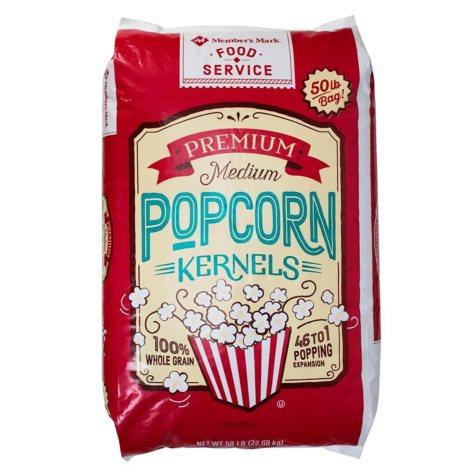 Member's Mark Premium Kernel Popcorn Bag (50 lb.)
