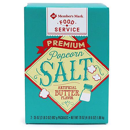**Deleted - Member's Mark Popcorn Salt (35 oz., 2 ct.)