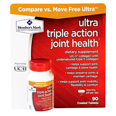 Member's Mark Ultra Triple Action Joint Health (90 ct.)