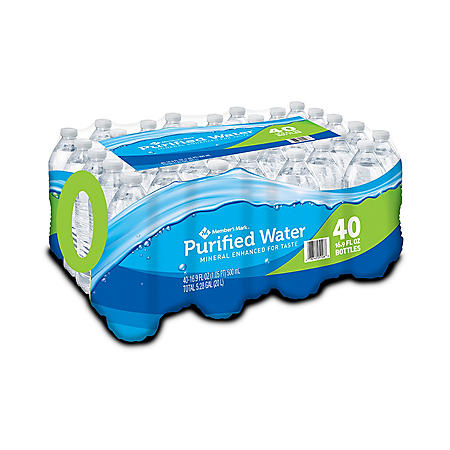 Member's Mark Purified Water (16.9 oz./40 pk.)