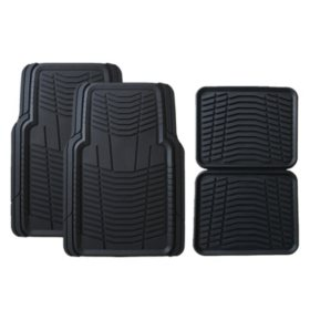 Member's Mark All-Weather Automotive Floor Mats (4 pk., Assorted Colors)