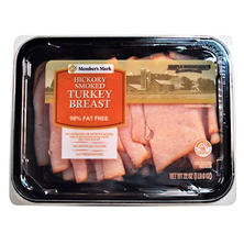Member's Mark Hickory Smoked Turkey Breast Lunch Meat (22 oz.)