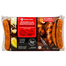 Member's Mark Mozzarella & Roasted Garlic Chicken Sausage (16 links)