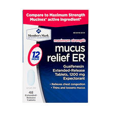 Member's Mark Mucus Relief ER (48 ct.)