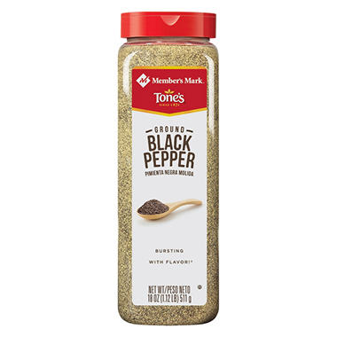Member's Mark Ground Black Pepper by Tone's (18 oz.)