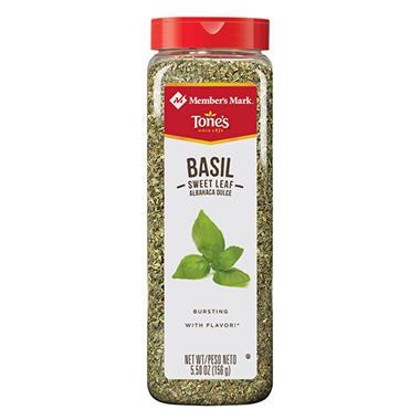 Member's Mark Sweet Basil Leaves by Tone's (5.5 oz.)