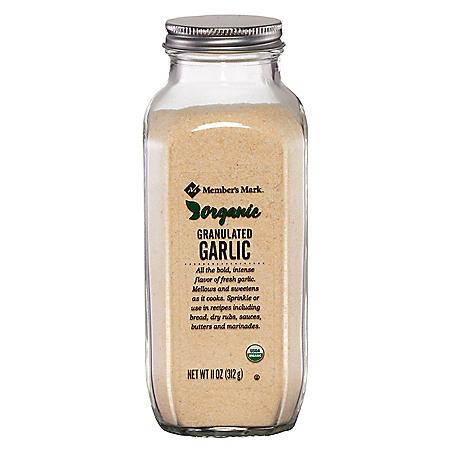 Member's Mark Organic Garlic Granulated (11 oz.)