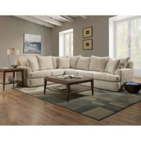 Member S Mark Olympia L Shaped Upholstered Sectional Orted Options