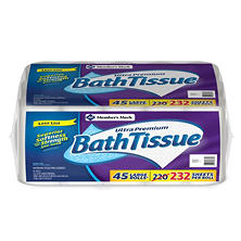 Member's Mark Bath Tissue Ultra Premium, 2 ply (232 sheets, 45 Rolls)