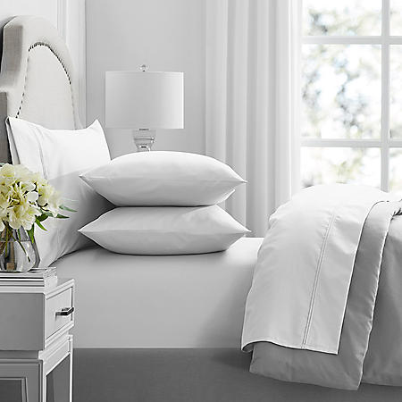 Hotel Premier Collection 650-Thread-Count Egyptian Cotton Sheet Set by Member's Mark (Assorted Sizes and Colors)