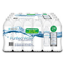 Member's Mark Purified Water (20 oz. ea., 24 pk.)