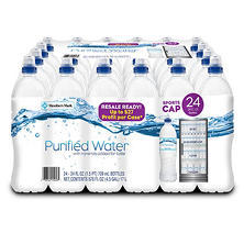 Member's Mark Purified Water (24 oz., 24 pk.)