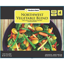 Member's Mark Northwest Vegetable Blend (16 oz., 4 pk.)