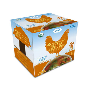 Member's Mark Organic Chicken Broth (32 oz., 6 ct.)