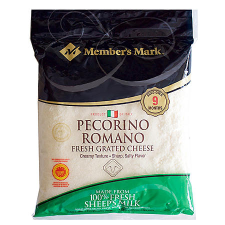 Member's Mark Grated Pecorino Romano Cheese by Argitoni (2 lbs.)