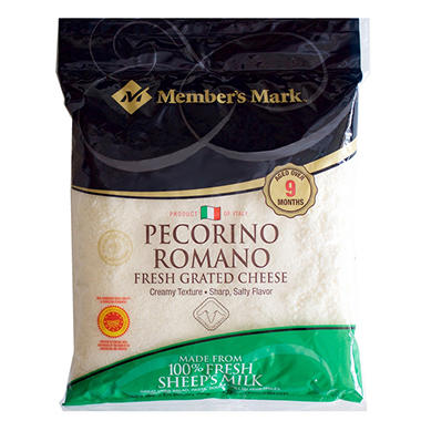 Member's Mark Grated Pecorino Romano Cheese by Argitoni  (2 lbs.)