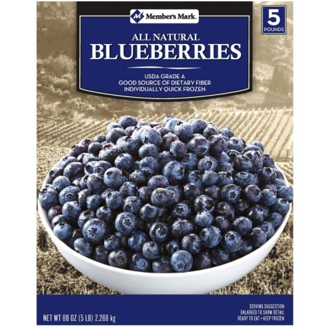 Member's Mark All Natural Blueberries (5 lb.)