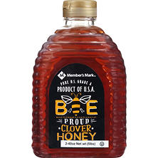 Member's Mark Bee Proud All-American Fancy Clover White Honey (2 ct., 40 oz.)