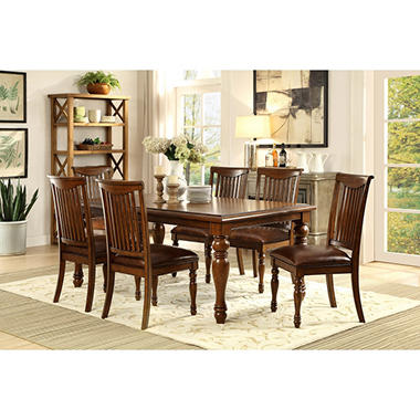 highfield table and chairs 7-piece dining set - sam's club