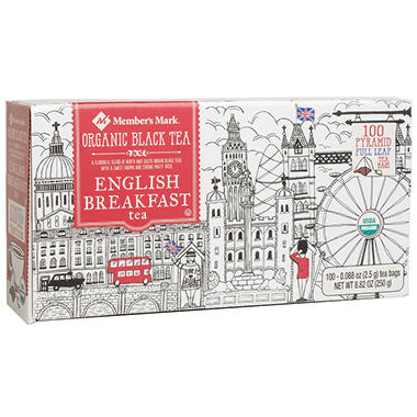 Member's Mark Organic English Breakfast Tea (100 ct.)