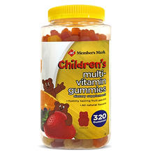 Member's Mark Children's Multi-Vitamin Gummies (320ct.)