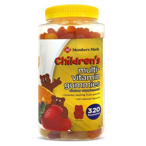 Member's Mark Children's Multi-Vitamin Gummies (320 ct.)