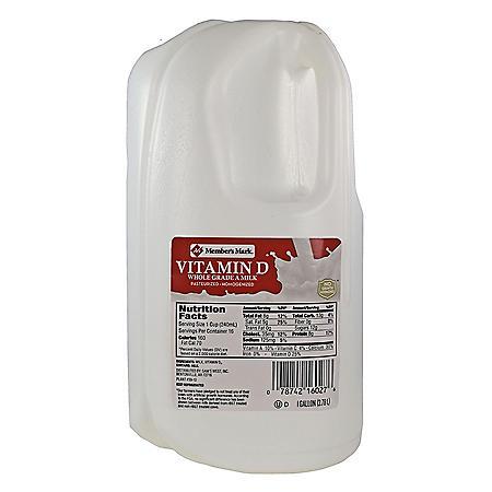 Member's Mark Vitamin D Whole Milk (1 gallon)