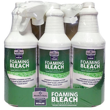 Member's Mark Commercial Foaming Bleach Cleaner (32oz., 3pk.)