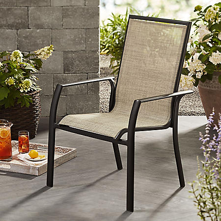 Member S Mark Sling Stacking Chair Sam S Club