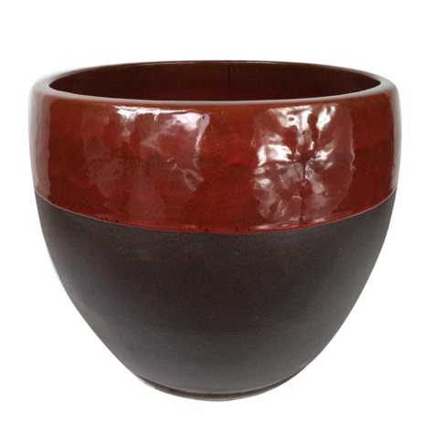 Kendall Ceramic Planter with Saucer