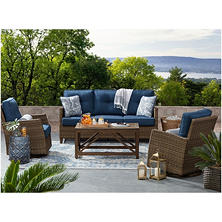 Best Seller Members Mark Agio Collection Fremont Seating Set (Indigo)